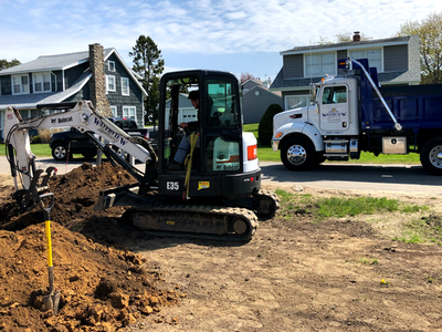 Excavation by Waterview landscaping