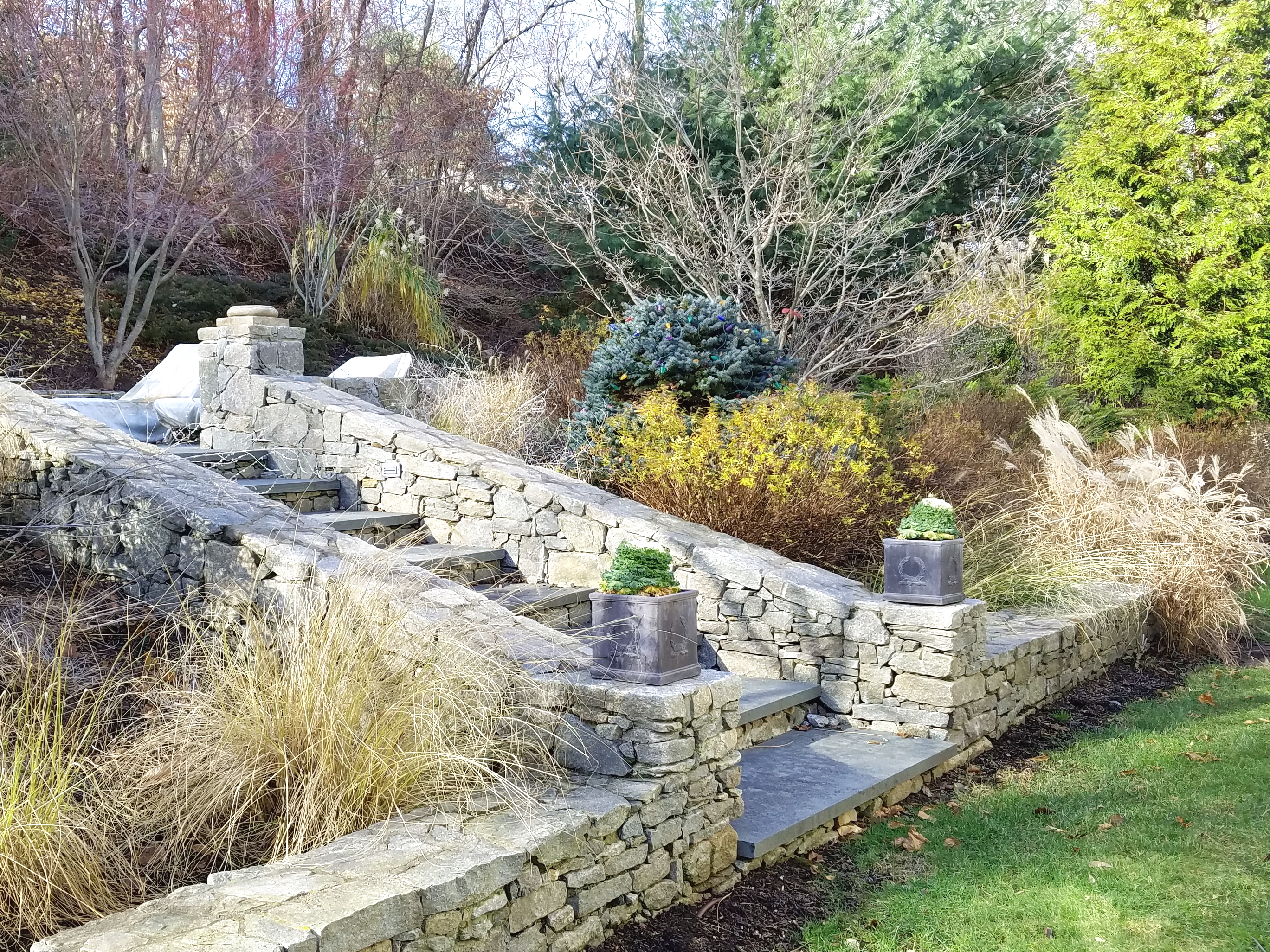 Stonework Waterview Landscaping